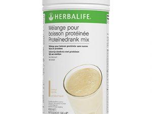 Mélange pour boisson protéinée