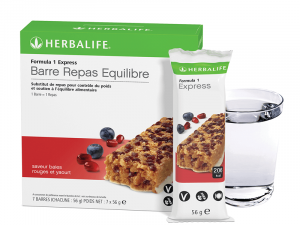 Barre Repas F1 Baies Rouges & Yaourt