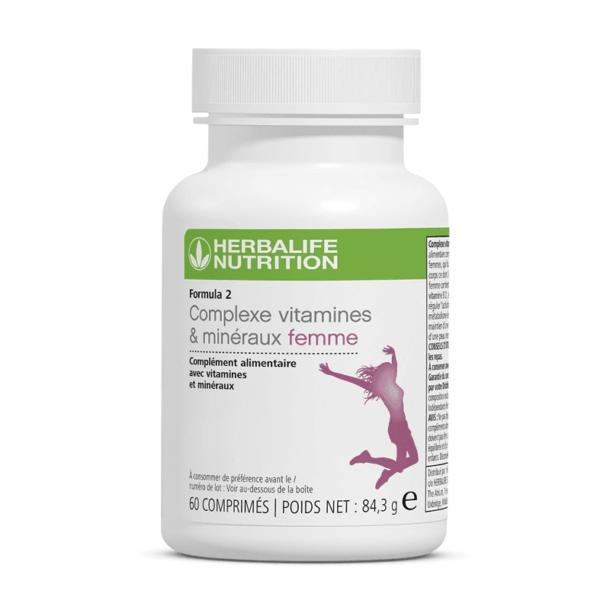 formula 2 complexe vitamines mineraux femme